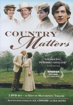 Front cover of the Region 2 DVD release of Country Matters
