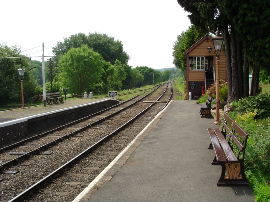 Hampton Loade station - July 2010