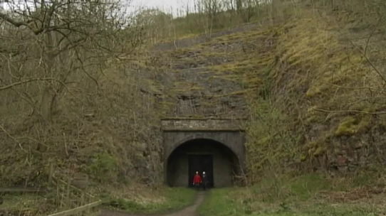 Railway Walks, Monsal viaduct, the Headstock tunnel