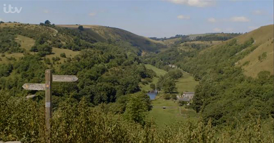 The view of the Monsal Valley from Monsal Head